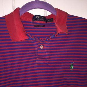 Boys Custom Fit Polo Shirt. Size Medium